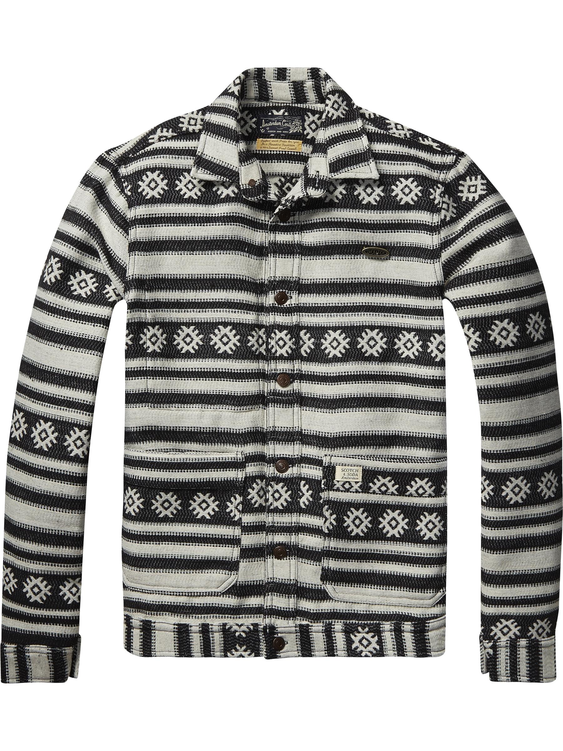 Scotch & Soda, Aztec jacket, was £139.95 now £45
