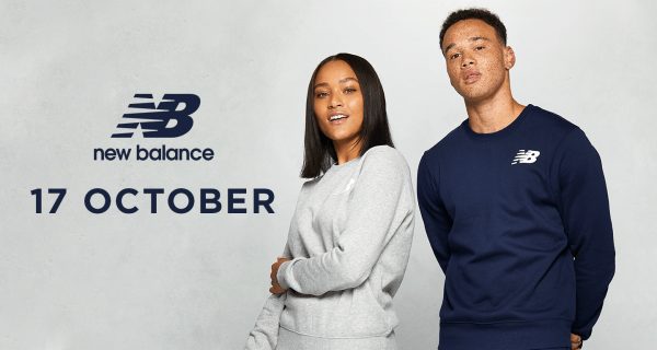 New Balance opens at 17th of October at ICON at the O2