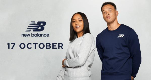 New Balance opens at 17th of October at ICON at the O2