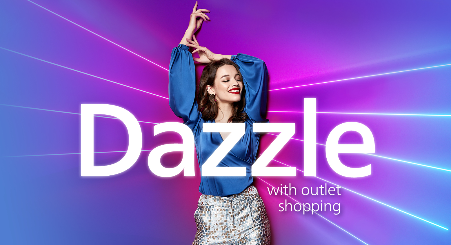 Dazzle with outlet shopping at ICON outlet shopping London