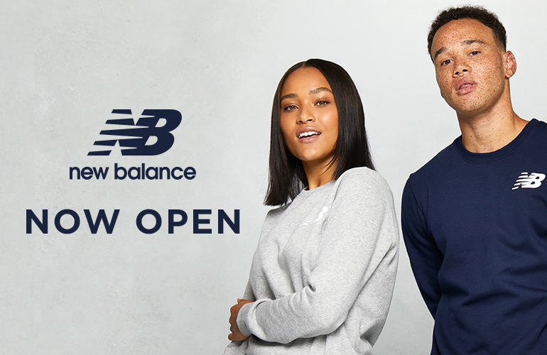 New Balance Opens On Lower Level