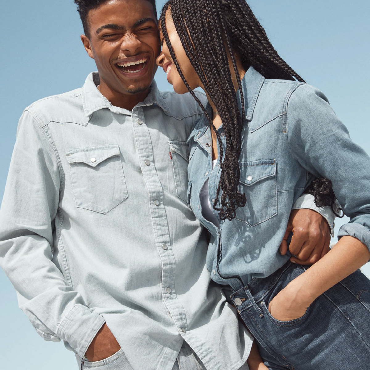 3 for 2 on all sale items at Levi's