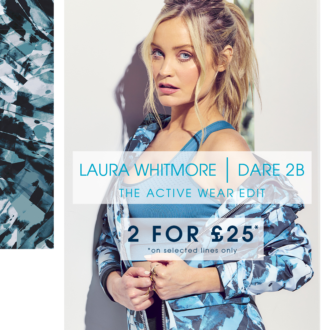 2 for £25 on Active Wear