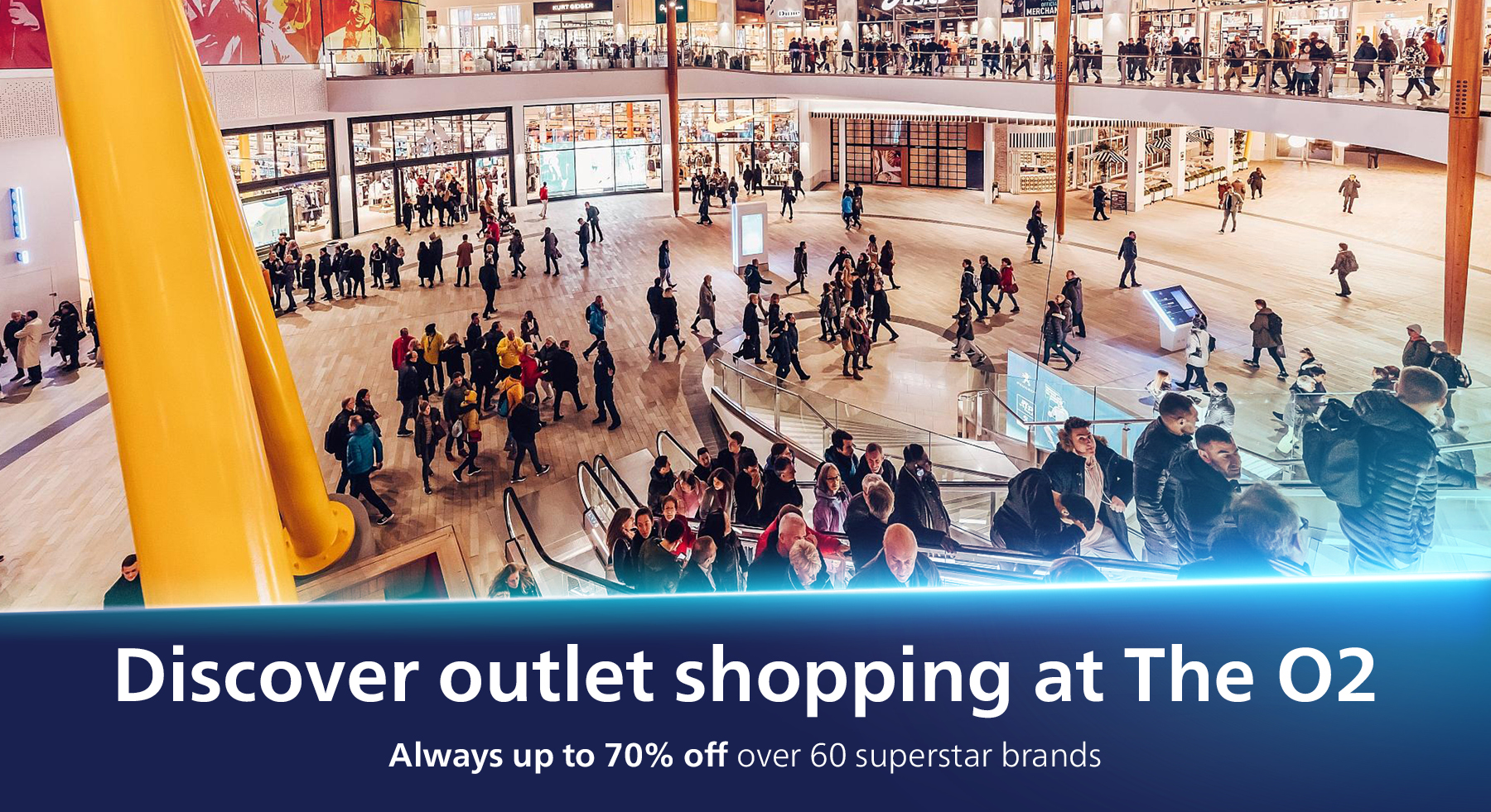 Outlet Shopping at The O2