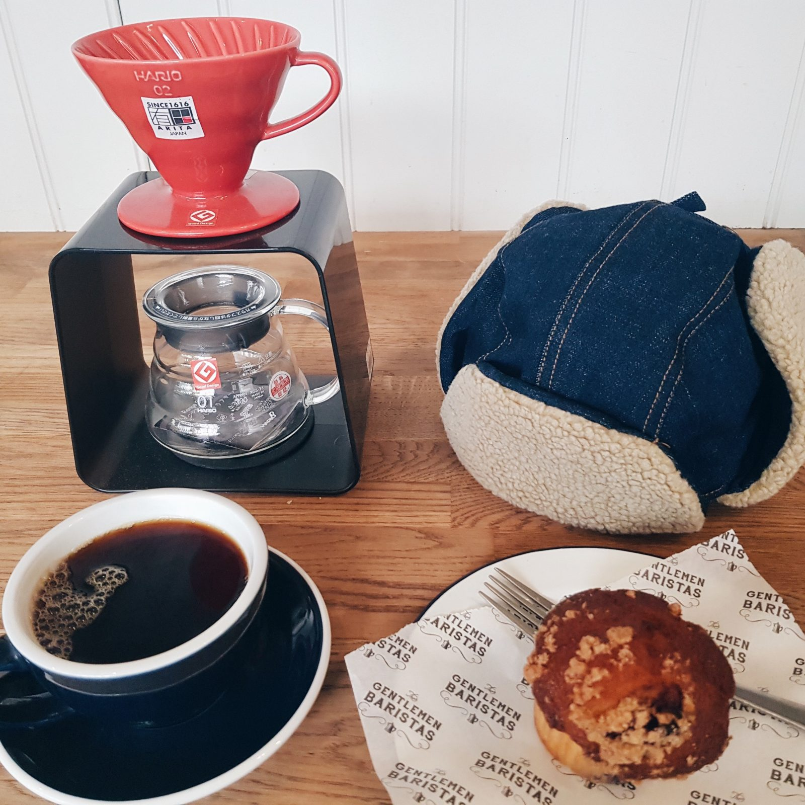 Americano and muffin for £3.50