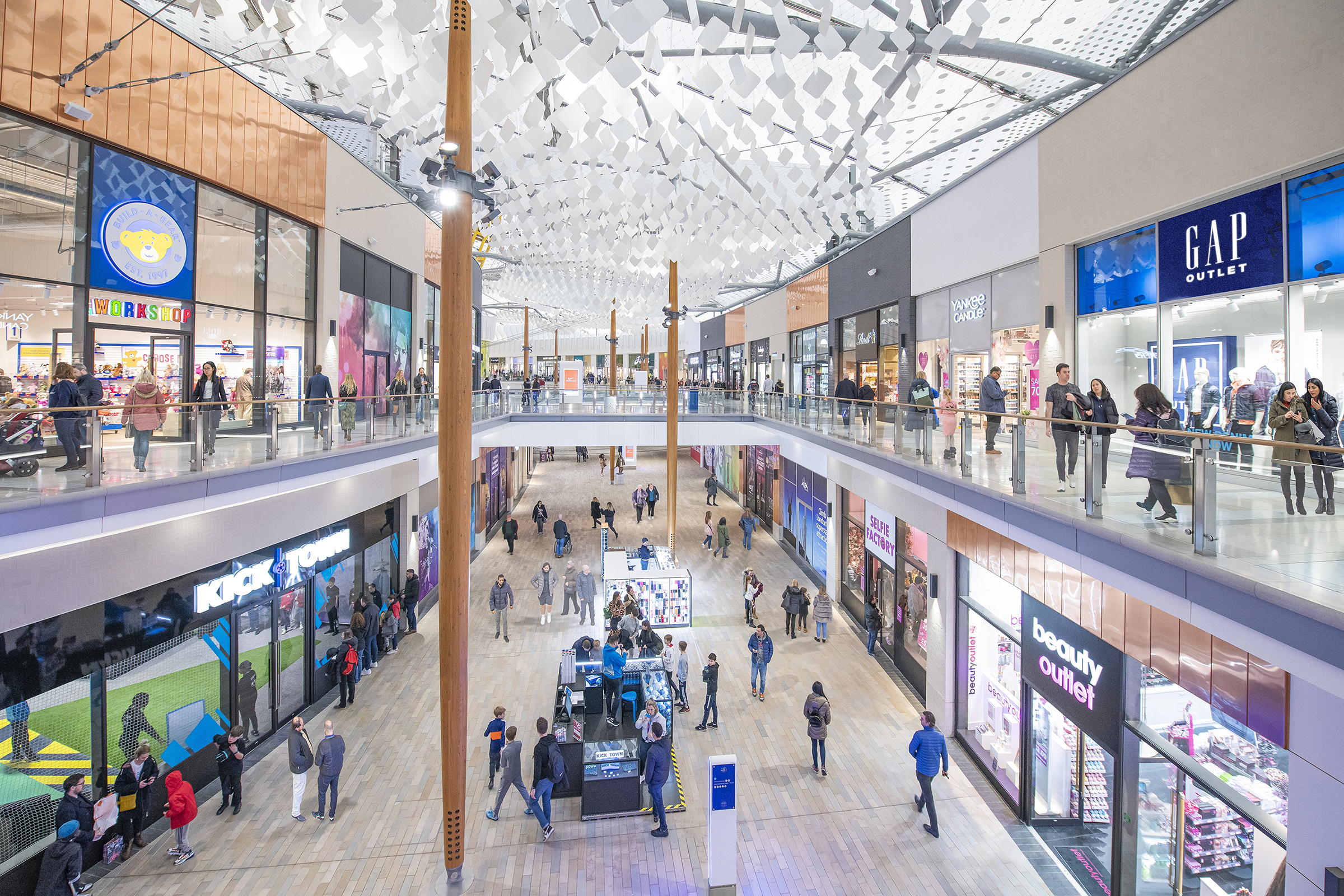Outlet shopping returns to The O2 from Monday 15 June