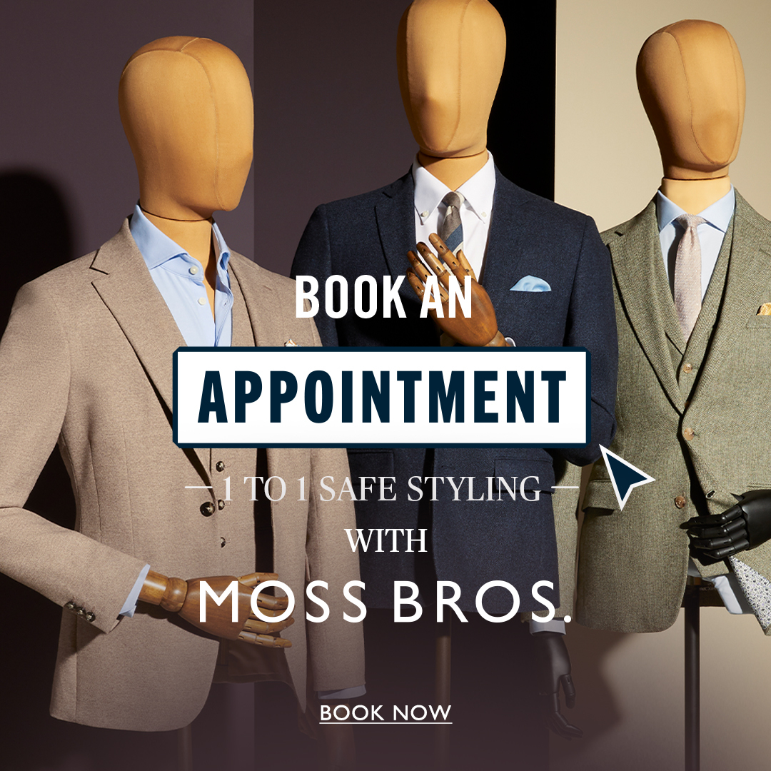 FREE 1 to 1 styling with Moss Bros