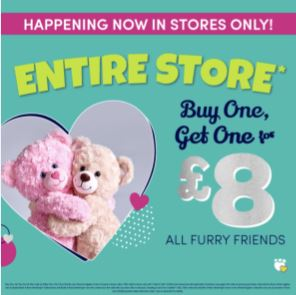 Buy One Bear Get One £8!
